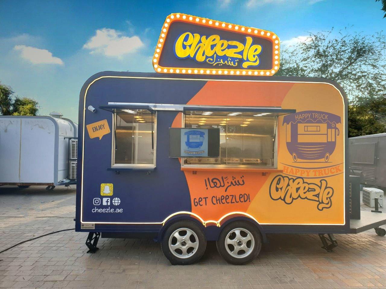 Food Truck اشكال عربات الطعام المتنقلة